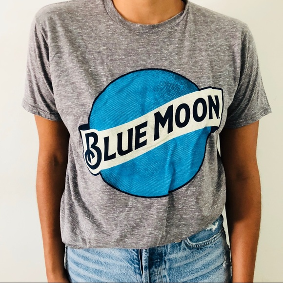 cb272a56 Urban Outfitters Tops | Blue Moon Beer Shirt New | Poshmark